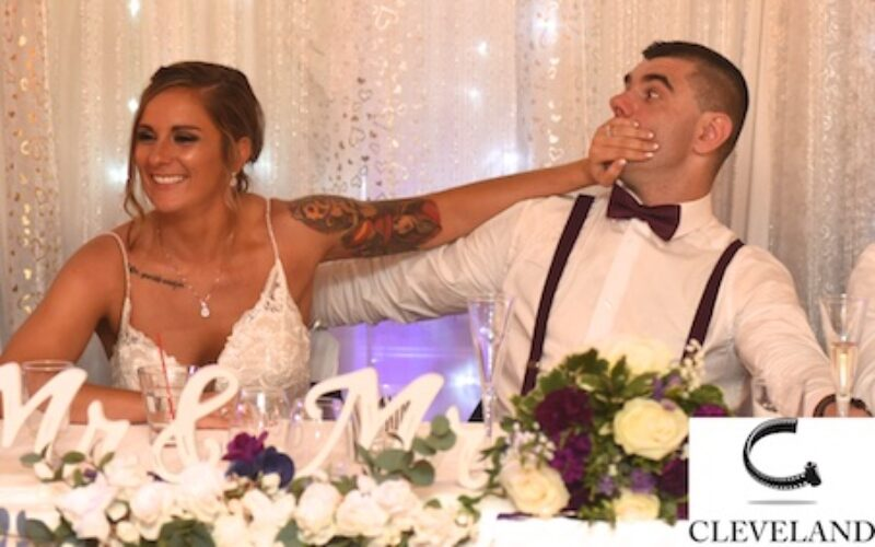 Caro's party center wedding for Kelsey & Damir