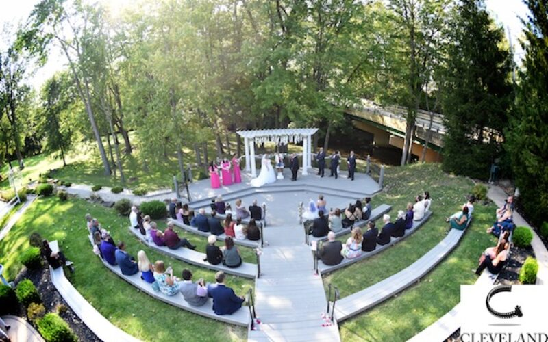 Grand Pacific Wedding Gardens Olmsted Falls Ohio for Shannon & Carlos