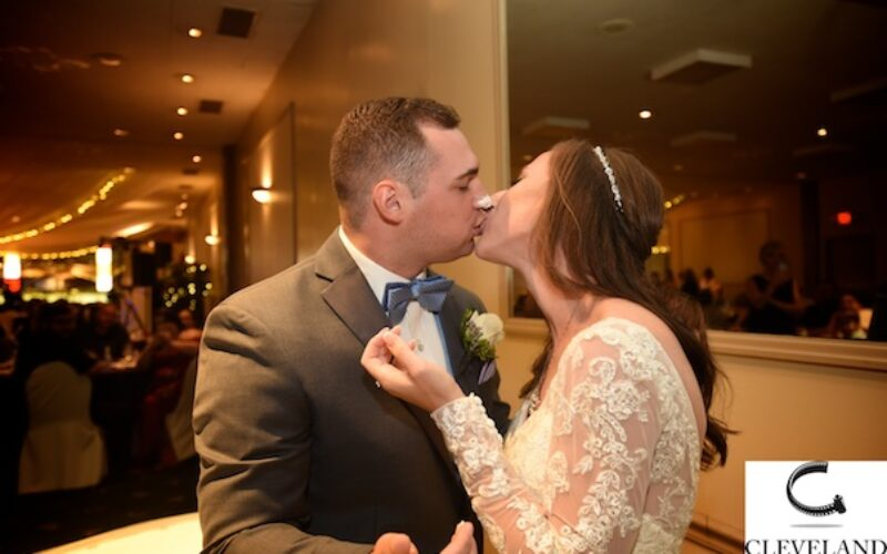 Patrician catering & St John Vianney wedding with photos at Squire's Castle for Noelle and James