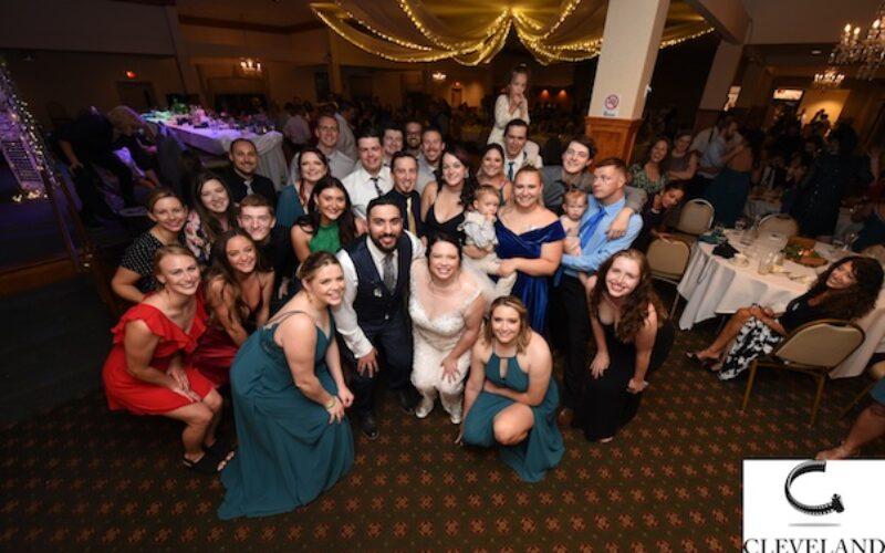 West side Irish American club & St Charles Borromeo Church wedding for Katie & Marcus
