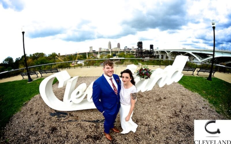 Penthouse Events CLE wedding for Hillary & Andrew