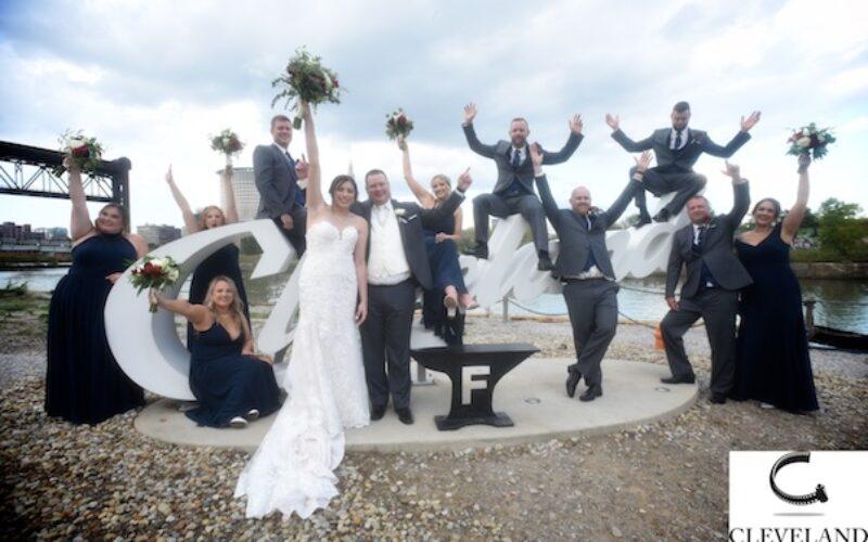 Emerald event center Avon Ohio wedding  for Emily & Matt