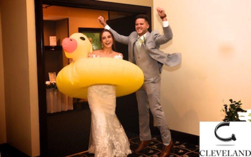 Williams on the lake Medina Ohio wedding for Rebecca & Connor
